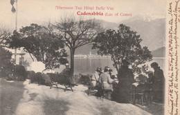 Italy Postcard Cadenabbia Hotel Belle Vue Afternoon Tea 1903 - Como