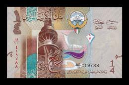 Kuwait 1/4 Dinar 2014 Pick 29 SC UNC - Kuwait