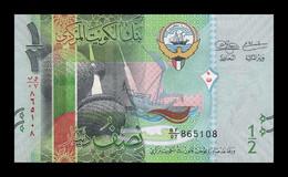 Kuwait 1/2 Dinar 2014 Pick 30 SC UNC - Kuwait