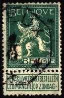 Belgium 1912 Mi 91 Standing Lion (1) - 1912 Pellens