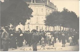 CPA - France - (85) Vendée - La Roche-Sur-Yon - Carte Photo - Départ Des Conscrits Devant La Gare (1905) - La Roche Sur Yon