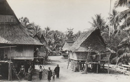 Malaysia Postcard Perak Native Village - Malaysia