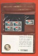 Francesco Baracca Aviatore 1918 1968 Medaglia E Francobolli X 50° Dalla Morte - Aviazione Emissione Cocepa Mi - Other