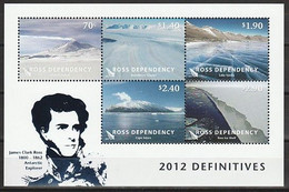 ANTARCTIQUE - ROSS 2012 Paysages, Mont Erebus, Ross - Yv. BF5 ** - Unused Stamps