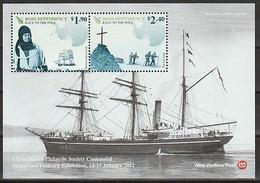 ANTARCTIQUE - ROSS 2012 Scott - Yv. BF4 ** - Unused Stamps