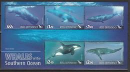 ANTARCTIQUE - ROSS 2010 Cétacés, Baleines - Yv. BF2 ** - Unused Stamps