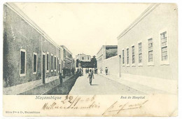 Cpa Mozambique - Moçambique - Rua Do Hospital   ( S.4853) - Mozambique