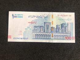 2021 Year P-904 100000 Rial / 100 Toman Iran UNC Banknote - Iran