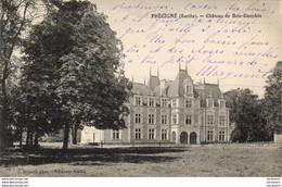 D72  PRÉCIGNÉ  Château De Bois Dauphin  ..... - Sonstige Gemeinden