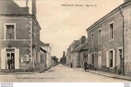 D72  PRÉCIGNÉ  Rue Du Pé   ..... - Altri Comuni