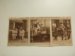 "Origineel Knipsel ( D 621 ) Uit Tijdschrift  "" Ons Land "" 1925 :  Sint - Niklaas  Sint - Nikolaas  Sinterklaas - Non Classificati"