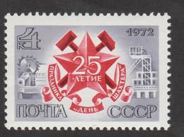 USSR (Russia) - Mi 4032 - Miner's Day - 1972 - MNH - Nuevos