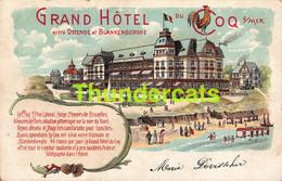 CPA DE HAAN COQ SUR MER GRAND HOTEL DU ENTRE OSTENDE ET BLANKENBERGHE - De Haan