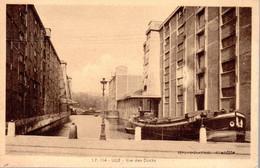 LILLE  -  Vue Des Docks  -  Belle Péniche  -  LP 114  -  Rare - Lille