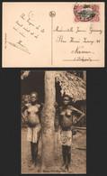Carte Postale - Congo Belge : Jeune Fille Mayumbe, Femmes Seins Nus / Voyagée - Congo Belga - Altri