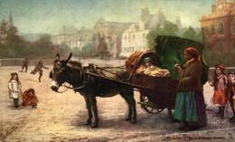 London Life A Street Piano  ANE DONKEY EZEL ESEL MULES Donkeycollection - Ohne Zuordnung