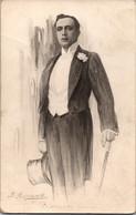 Russia Imperial Tsarist 1910s Vladimir Maksimov Theater And Silent Film Actor - Actors