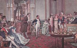 O. Rex - Napoléon Présentant Le Grand Poëte Goethe...(Ed. Lapina) - Pittura & Quadri