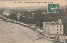 QU13-(29) MORGAT - LE GRAND HOTEL DE LA MER , LA PLAGE ET LES VILLAS  - 2 SCANS - Morgat