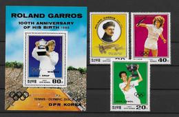 Korea (Nord)1987 Olympia Mi.Nr. 2889/91 Kpl. Satz + Block 228 ** - Corea Del Nord