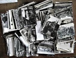 450 Cartes Postales Semi-anciennes Glacées, Crantées, En Noir & Blanc - 100 - 499 Postcards