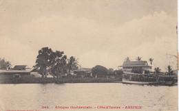 (181)  CPA  Cote D' Ivoire  Assinie   ( Bon état ) - Ivory Coast