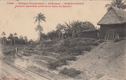 (181)  CPA  Porto Novo  Dahomey Grande Tranche Près De La Gare De Sakete   ( Bon état ) - Dahomey