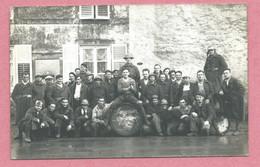 57 - BRECHLINGEN - BRECKLANGE / HINCKANGE Près BOULAY - Carte Photo - Soldats Français - 1938 Sur Le Tonneau - Sin Clasificación