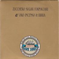 CD MINI COMPACT DISC PUBBLICITARIO SANS SOUCI ZUCCHERO SUGAR FORNACIARI D' ORO INCENSO & BIRRA 1989 - Edizioni Limitate