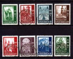 BELGIE - Mi Nr 885/892 - Gest./obl. - Cote 25,00 € - 1945-60 Used