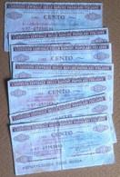 Collezionismo - Istituto Centrale Banche Popolari Italiane - 7 Miniassegni Usati - Unclassified