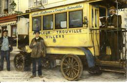 14 Calvados Honfleur Automobile De Voyage Trouville Villers Societe Honfleuraise Animée Homme Costume Route Commerce - Honfleur