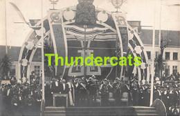 CPA GENT FOTOKAART CARTE DE PHOTO GAND SOUVENIR DE LA VISITE DE LEOPOLD II 1905 - Gent