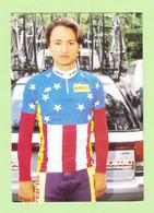 CYCLISME - Bart BOWEN Champion Des Etats Unis En 1992 - Equipe SUBARU - 2 Scans - Wielrennen