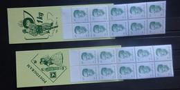 BELGIE  Postzegelboekjes   1984     B 16 - 17      Postfris **    CW 60,00 - Carnet 1953-....