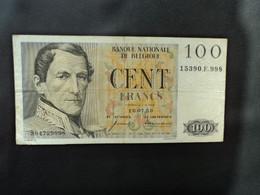 BELGIQUE * : 100 FRANCS   16-7-1959   Après Le COB 66c ** / After P 129c      Presque TTB+ *** - 100 Francs
