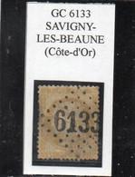 Côte-d'Or - N° 55 Obl GC 6133 Savigny-les-Beaune - 1871-1875 Ceres