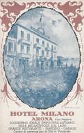 (181)  CPA   Arona  Hotel  Milano ( Bon état ) - Other Cities