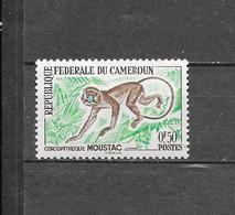 1962 Republique  Federale Du Cameroun  Moustac  Y&t Nr° 339 (**) - Kameroen (1960-...)