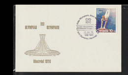 Canada Card 1976 Montreal Olympic Games - IOC (T6-52) - Sommer 1976: Montreal