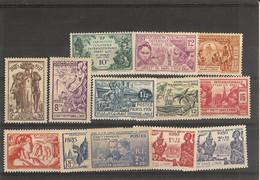 Indes- (1931 ) N° 105 /117 - Zonder Classificatie