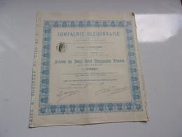 COMPAGNIE OLERONNAISE (A. BOUINEAU & FILS) 1883 - Unclassified