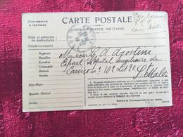 Bastia Corse-WWI-Agostini 32é Régi Infanterie Coloniale Hôpital Auxiliaire: Casino Saint-Malo+Courrier-Guerre 14-18 - WW I