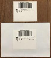 1995 Schalterterminal Olivetti, SFS 10, 2x Ersttag. 2.5.95, 8010 Zürich-Mülligen Annahme Und 15.5.95, 8953 Dietikon 1 - Automatenzegels