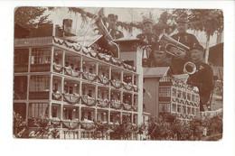 28051 - Leysin Clinique Militaire Musiciens Fanfare 1918 (attention Carte état Moyen Mais RARE) - VD Vaud