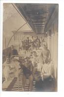 28053 - Leysin Hôtel Du Roselier 1917 Carte Photo Les Malades Hommes Et Leur Soignante - VD Vaud