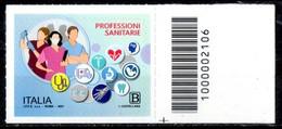 Italia 2021 - Professioni Sanitarie Codice A Barre MNH ** - Codici A Barre