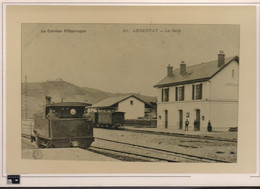 Carte Photo - La Gare - Argentat