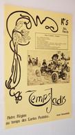 B0804[Tijdschrift] Temps Jadis : Notre Région Au Temps Des Cartes Postales No 5 1979 [Verviers Pepinster Polleur Eupen - België