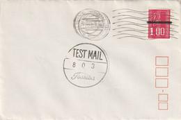 TEST MAIL TOSHIBA Sur Marianne De Becquet. Machine Essai - Mechanical Postmarks (Other)